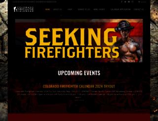 cofirefightercalendar.org screenshot
