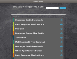cogecaratulas.top-play-ringtones.com screenshot