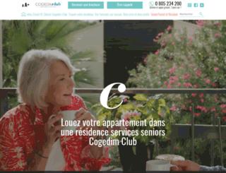 cogedim-club.com screenshot