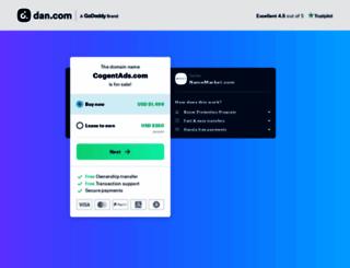 cogentads.com screenshot