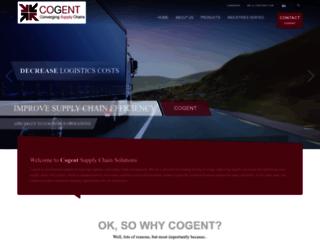 cogentscs.com screenshot