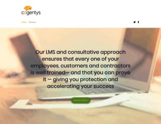 cogentys.com screenshot