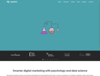 cognitionagency.co.uk screenshot