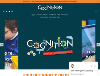 cognitionlearning.co.uk screenshot