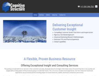 cognitive-structure.com screenshot