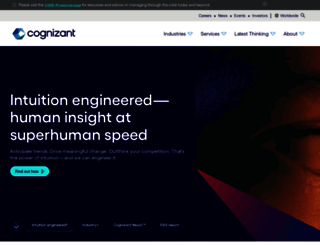 cognizant.com screenshot