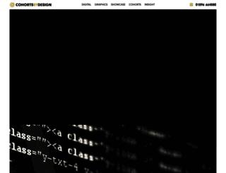cohortsbydesign.com screenshot