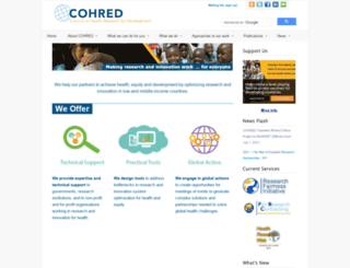 cohred.org screenshot