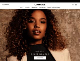 coiffance.com screenshot