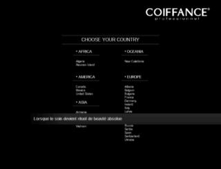 coiffance.fr screenshot