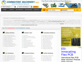 coimbatoremachinery.com screenshot