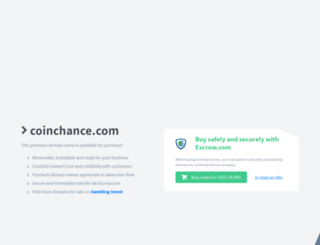 coinchance.com screenshot