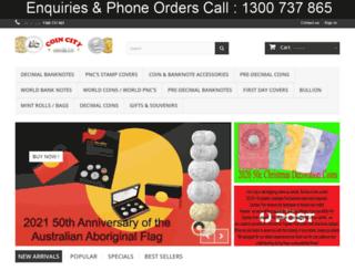 coincity.com.au screenshot