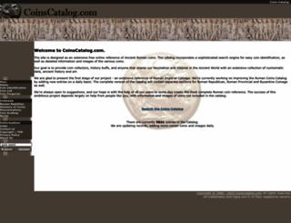 coinscatalog.com screenshot