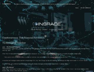 coinsrace.wordpress.com screenshot