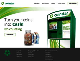 coinstar.ca screenshot