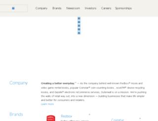 coinstarinc.com screenshot