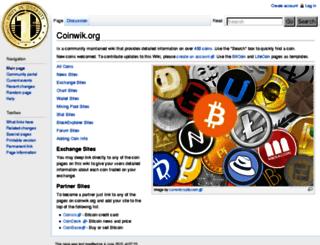 coinwik.org screenshot