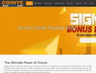 coinyepayway.com screenshot