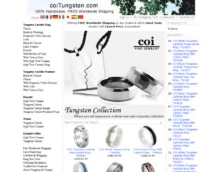 coitungsten.com screenshot