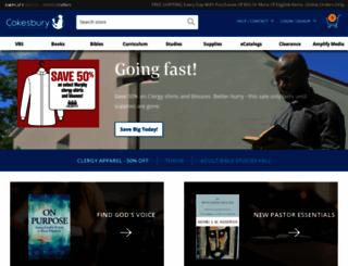 cokesbury.com screenshot