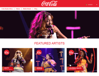 cokestudio.co.ug screenshot