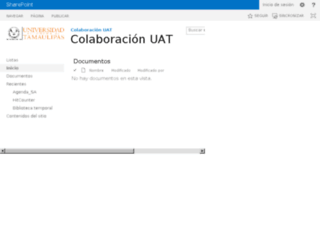 colaboracion.uat.edu.mx screenshot