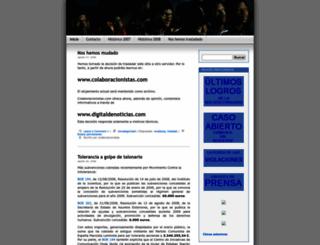colaboracionistas.wordpress.com screenshot