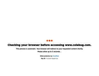 colabug.com screenshot