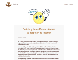 colarte.com screenshot
