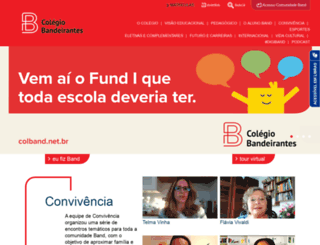 colband.net.br screenshot