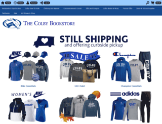 colbybookstore.collegestoreonline.com screenshot