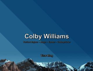 colbycheeze.com screenshot