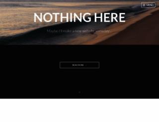 colbytrudeau.com screenshot