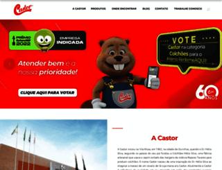 colchoescastor.com.br screenshot