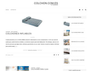 colchon.com.es screenshot