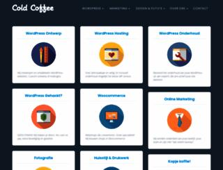 coldcoffee.nl screenshot