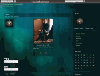 coldlenny.dreamwidth.org screenshot