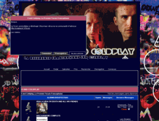 coldplay.frbb.net screenshot