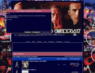 coldplay.frbb.net screenshot