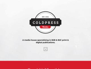 coldpressmedia.co.za screenshot