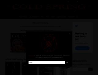 coldspring.co.uk screenshot