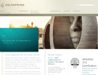 coldspringgranite.com screenshot
