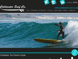 coldwatersurf.co.uk screenshot