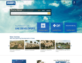 coldwellbanker-ae.com screenshot