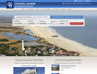 coldwellbankercapemay.com screenshot