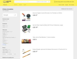 coleccionables.mercadolibre.com.ec screenshot