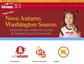 colegioantares.com.br screenshot