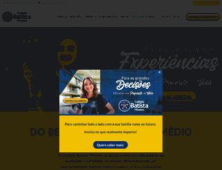 colegiobatistamineiro.com.br screenshot