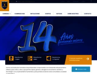 colegiocambridge.edu.gt screenshot